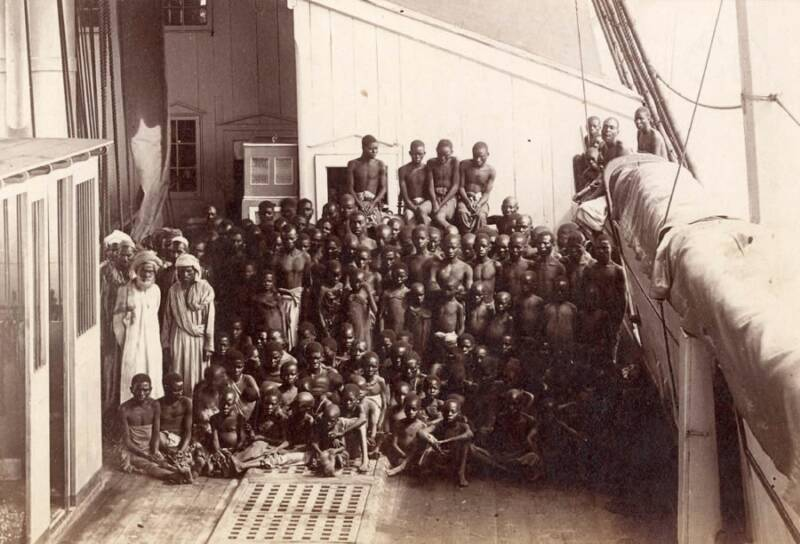 Image result for slavery in africa on the ship